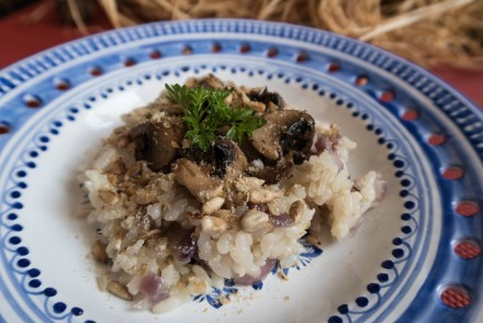 sweet rice risotto